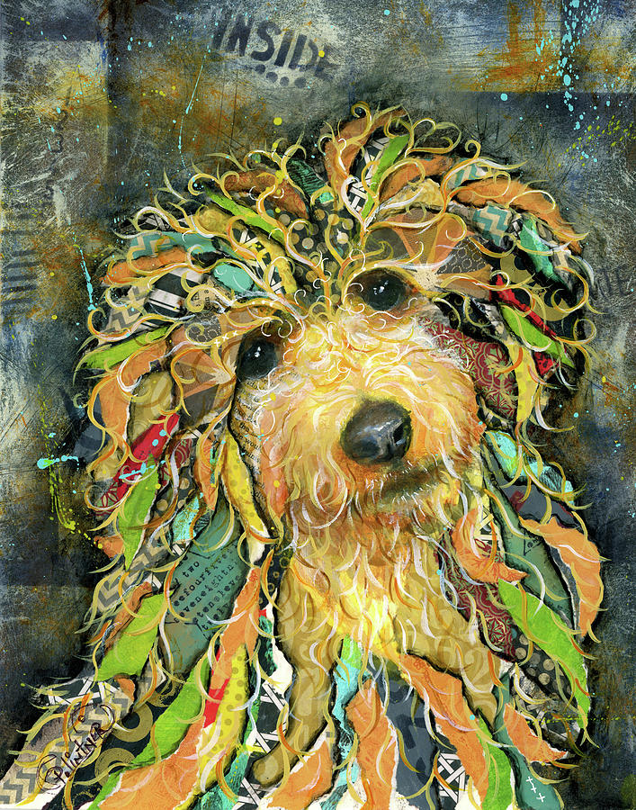 Goldendoodle by Patricia Lintner