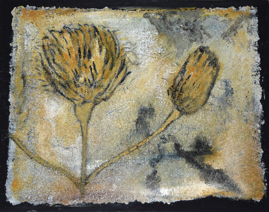 GOLDENROD FOSSIL by Toni Willey