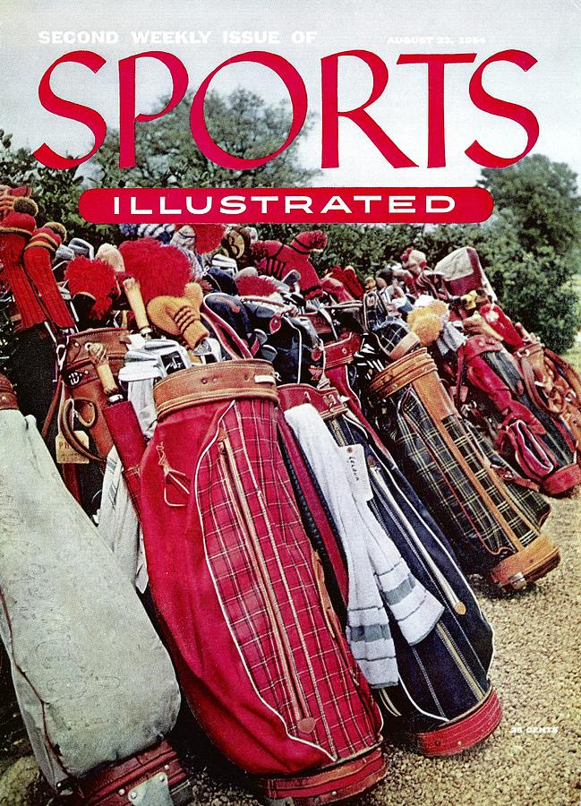 Golf Bags, 1954 Masters Tournament Sports Illustrated Cover Photograph by Sports Illustrated