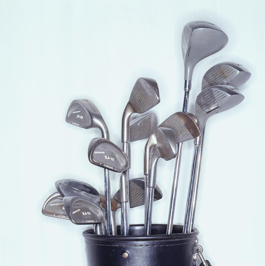 Golf Clubs Photograph by White Packert