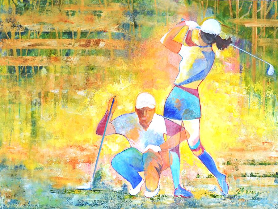 Golf Maniac by Betty M M Wong