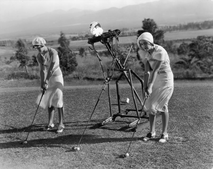 Golf Robot Photograph by General Photographic Agency