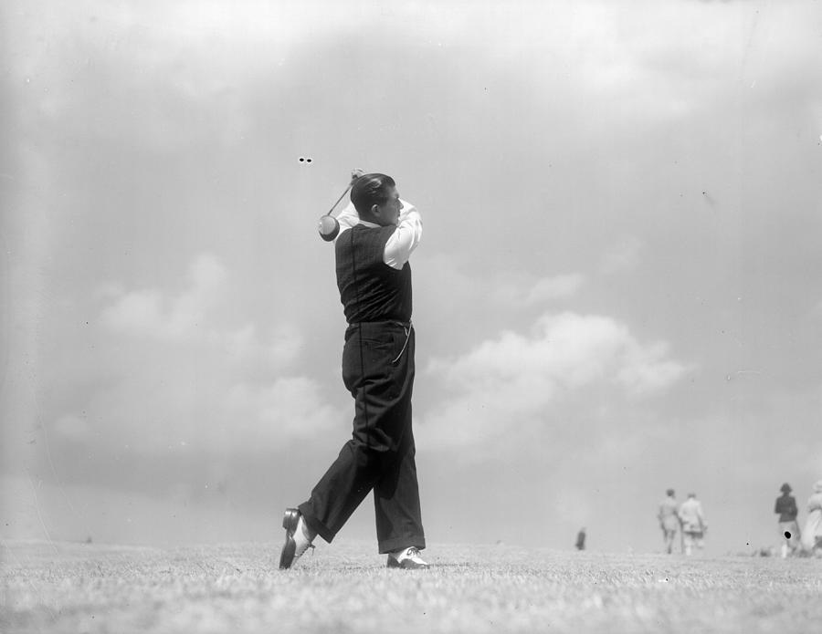 Golf Swing Photograph by London Express