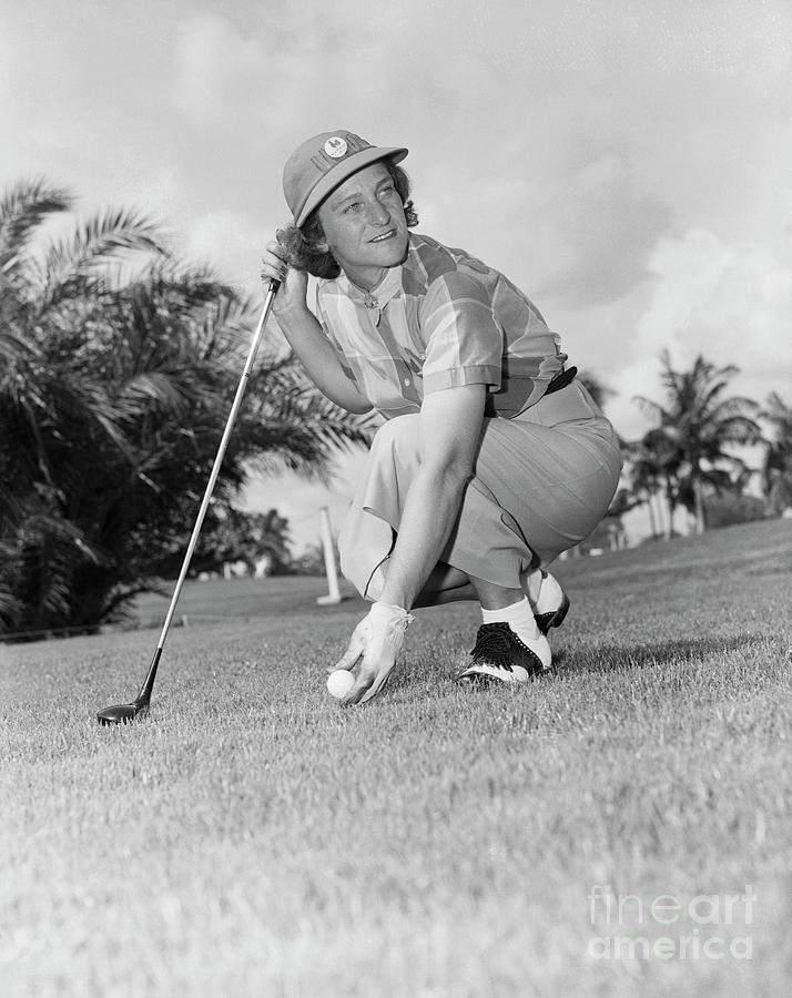 Golfer Babe Zaharias Photograph by Bettmann