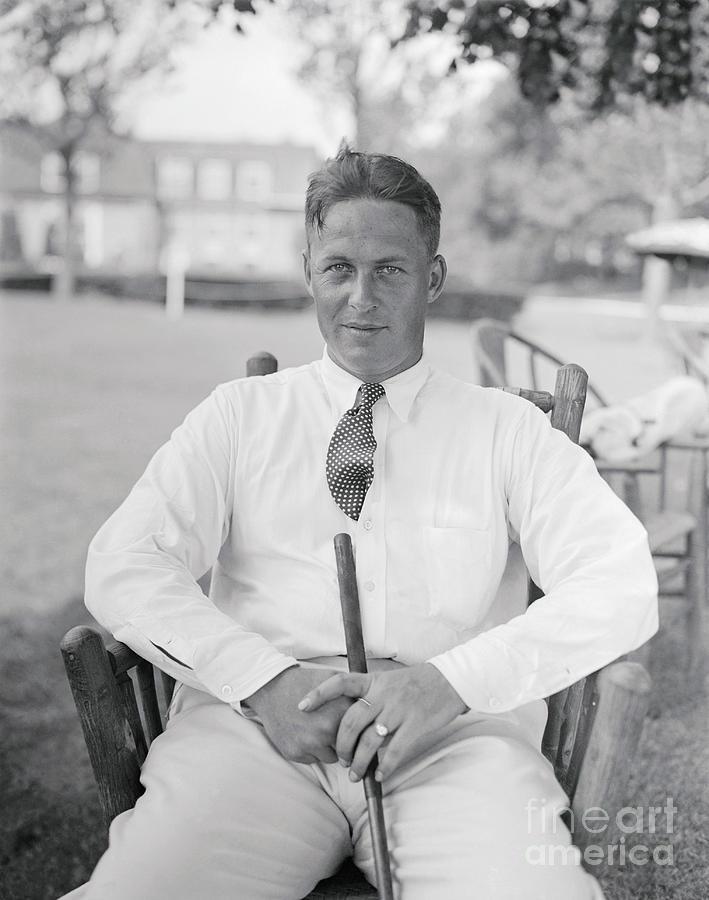 Golfer Bobby Jones Photograph by Bettmann