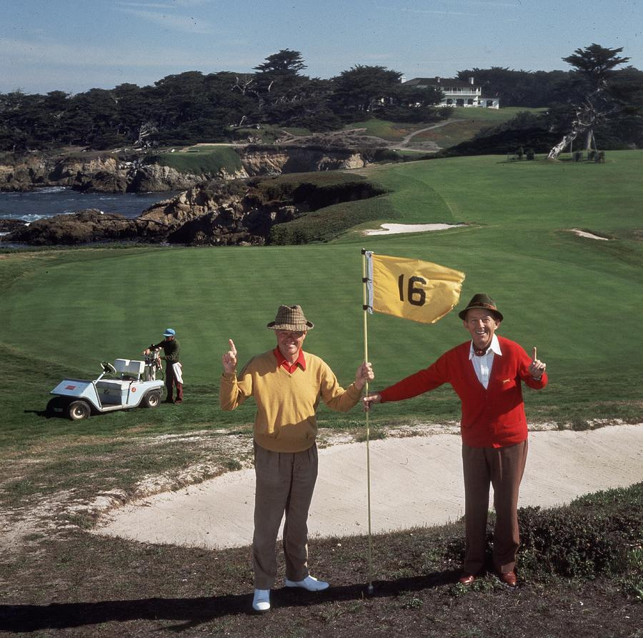Golfing Pals Photograph by Slim Aarons