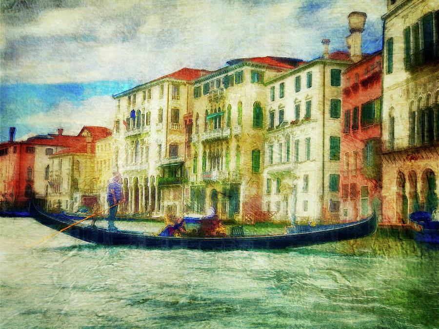 Gondola Ride by Jill Love Photo Art