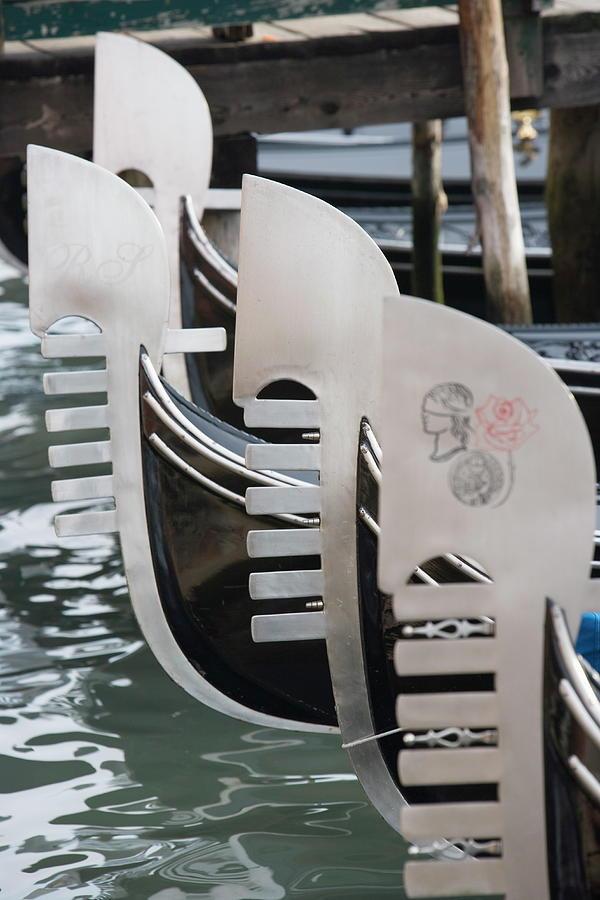 Gondola, Venice, Veneto, Italy, Europe Photograph by Neil Emmerson / Robertharding