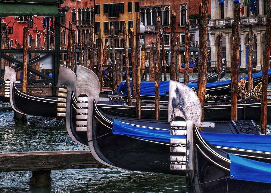 Gondolas 2 by Al Harden