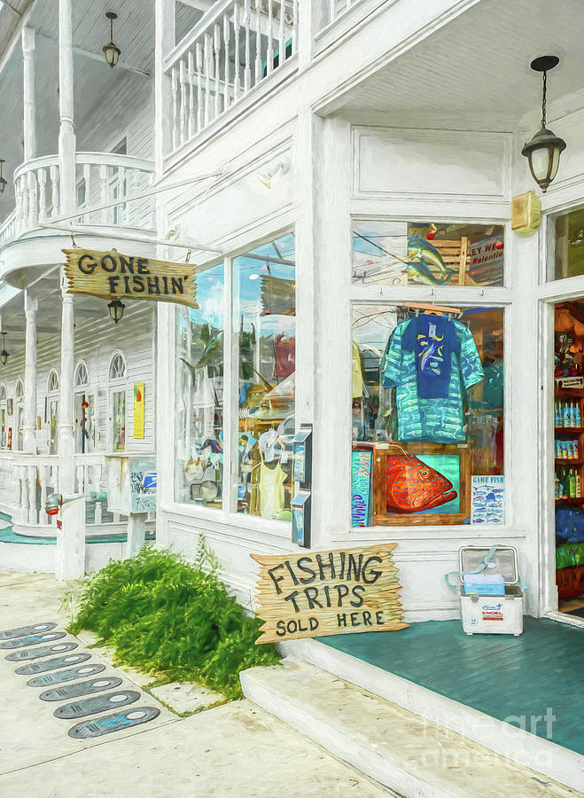 Gone Fishin' In Key West by Mel Steinhauer