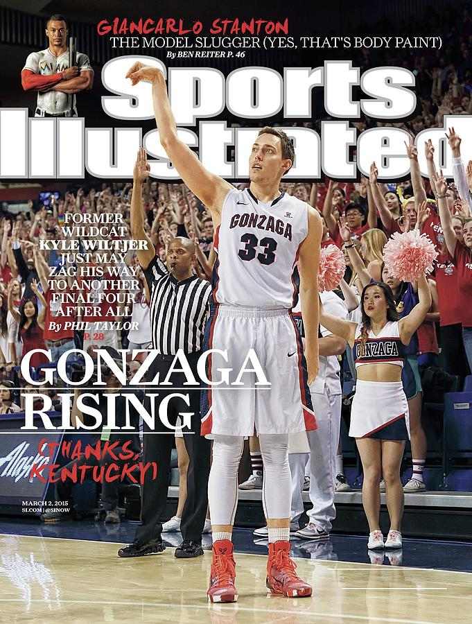 Gonzaga Rising Sports Illustrated Cover Photograph by Sports Illustrated
