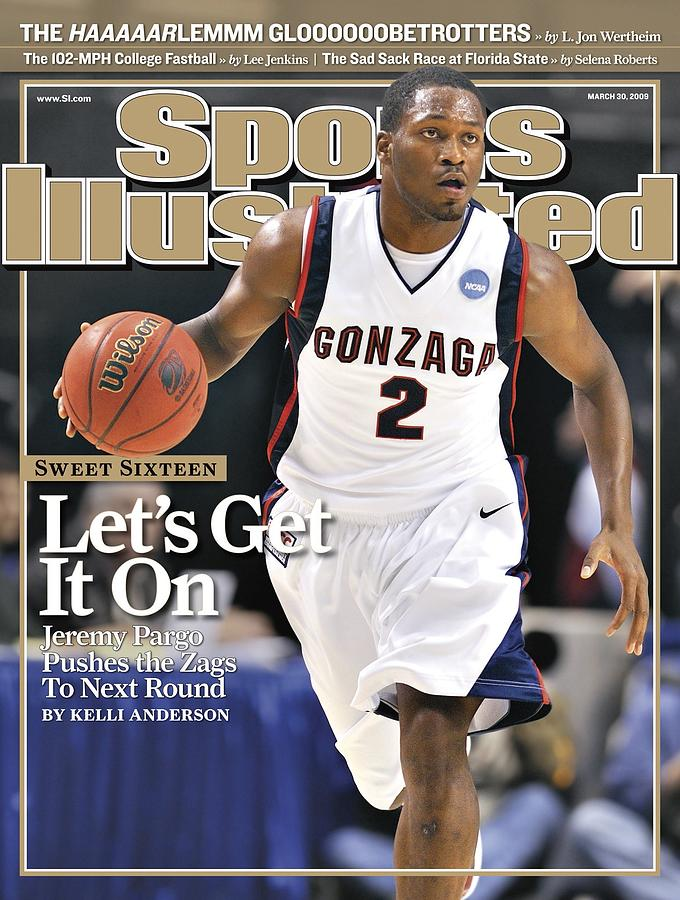 Gonzaga University Jeremy Pargo, 2009 Ncaa South Regional Sports Illustrated Cover Photograph by Sports Illustrated