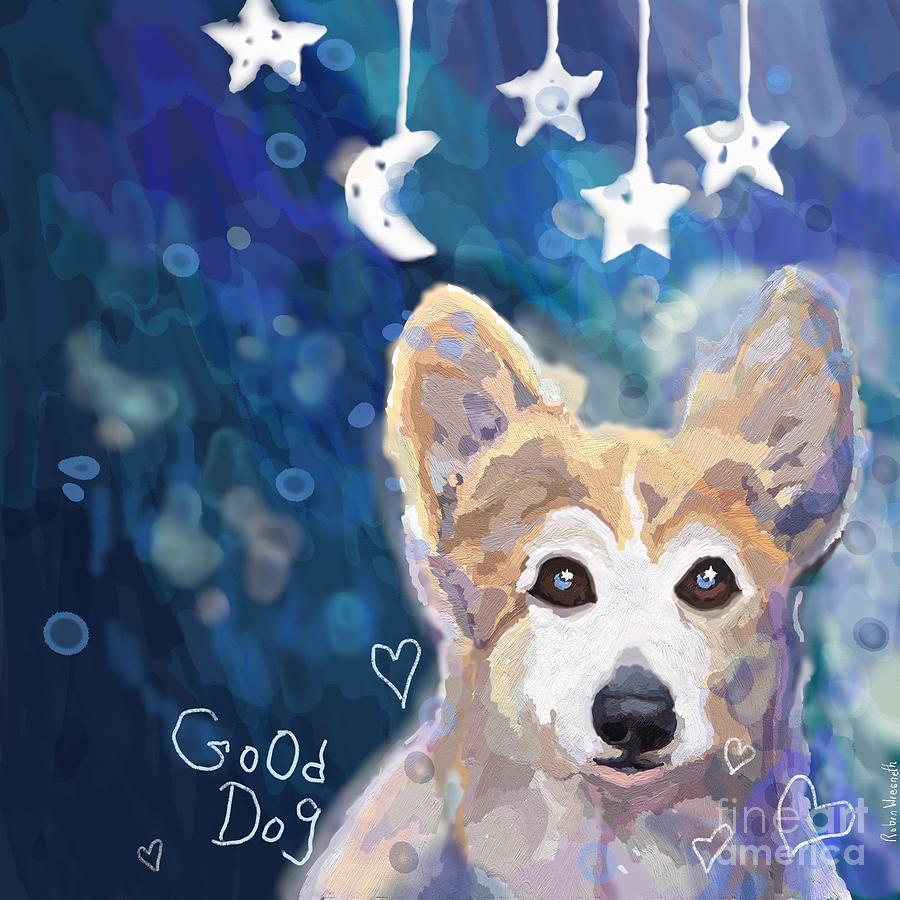 Good corgi by Robin Wiesneth
