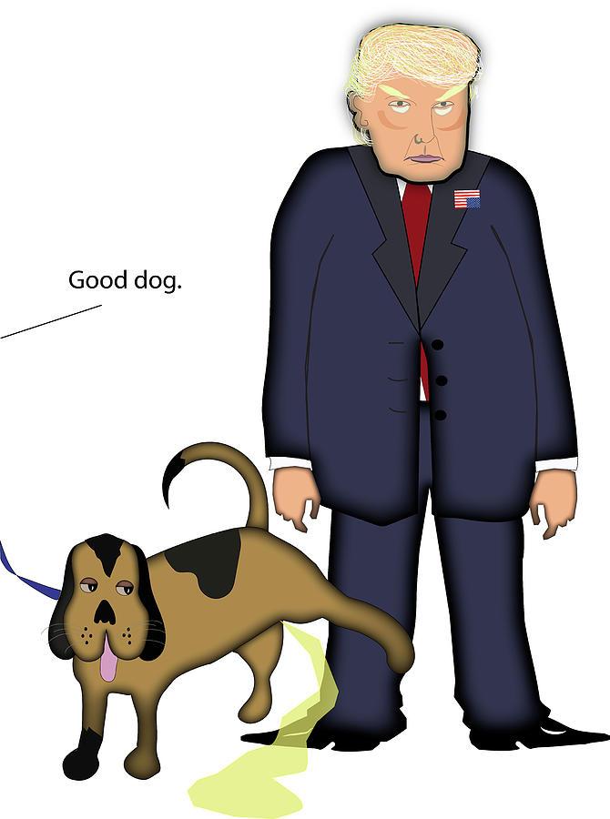 Good Dog Digital Art by Nancy Cahill