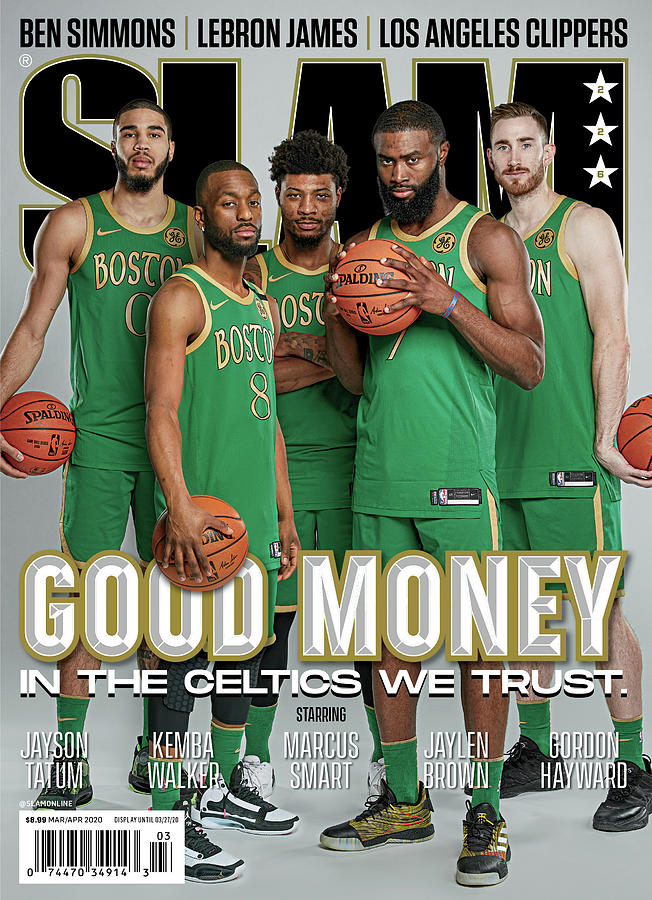 Good Money: In the Celtics We Trust SLAM Cover Photograph by Matthew Coughlin