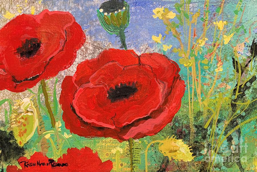 Good Morning Poppies by Robin Maria Pedrero