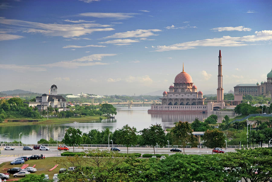 Good Morning Putrajaya Photograph by Virginie Blanquart