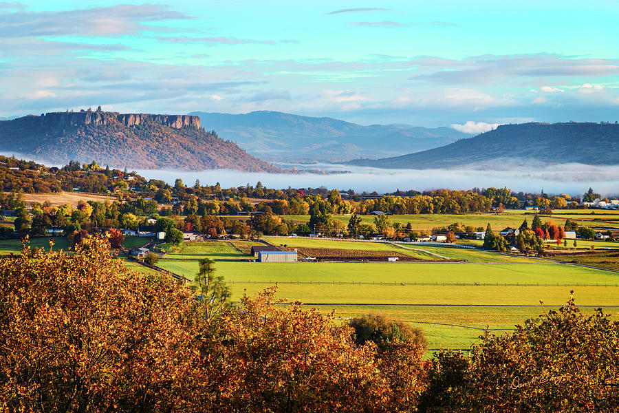 Good Morning Rogue Valley by Dan McGeorge
