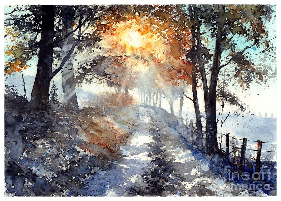 Wild Painting - Good Morning Sun by Suzann Sines