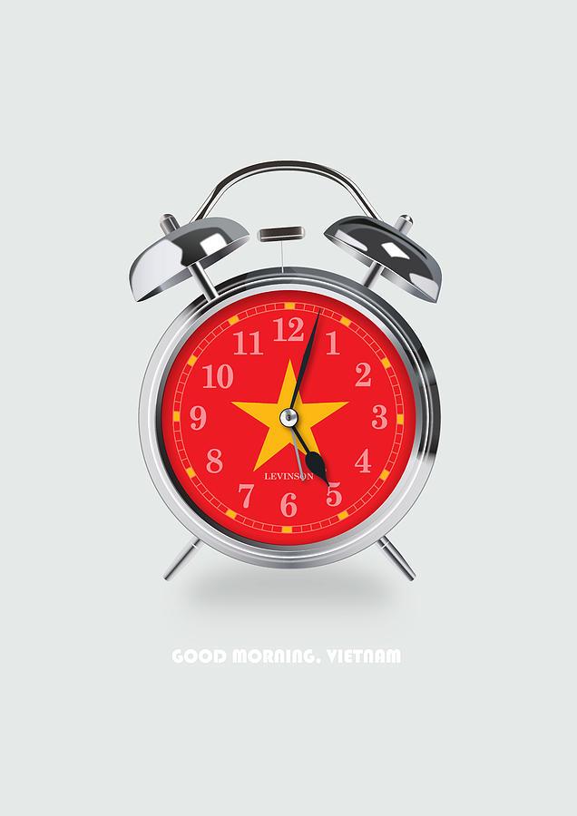 Good Morning Digital Art - Good Morning, Vietnam - Alternative Movie Poster by Movie Boy