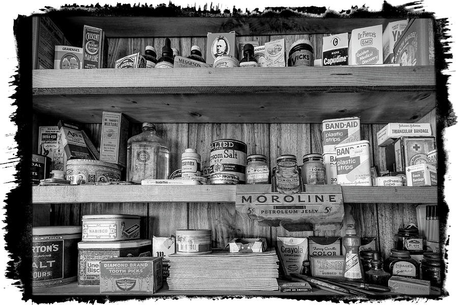 Good Old Fashioned Country in Black and White by Debra and Dave Vanderlaan