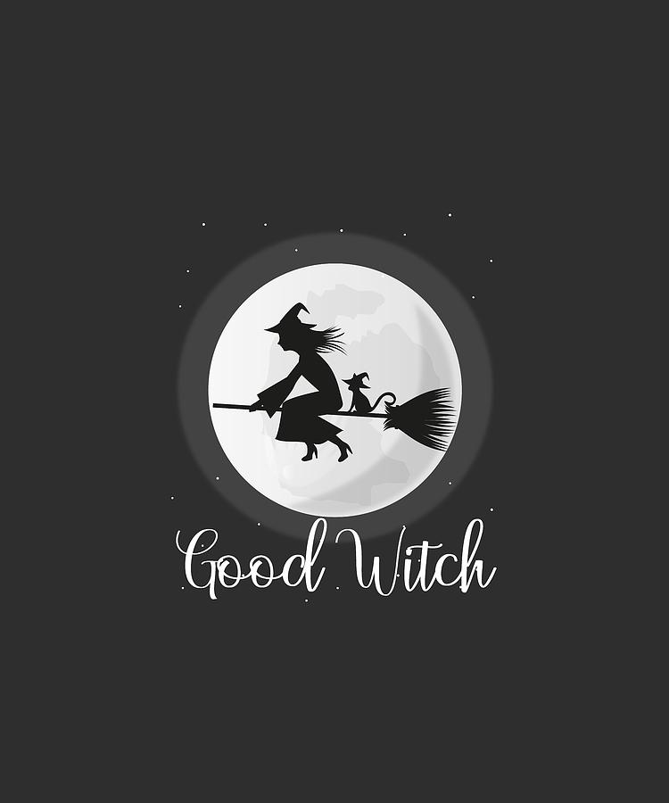 Preview Of Good Witch Halloween 2020 Good Witch Halloween 2020 Shirt Digital Art by Mary Mas
