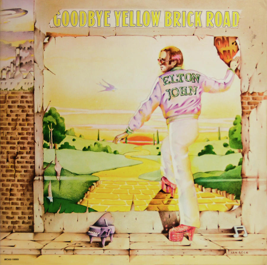 Goodbye Yellow Brick Road Photograph - Goodbye Yellow Brick Road by Robert VanDerWal