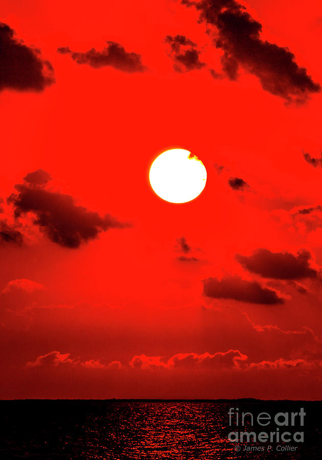 Goose Island Sunrise Red by Jim Collier