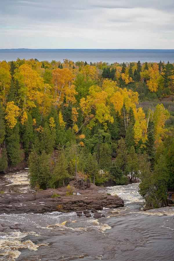 Gooseberry Falls in Autumn by Susan Rydberg