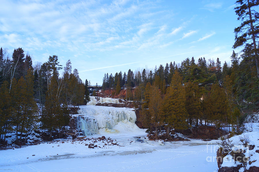 Gooseberry Falls in Winter by Kyle Neugebauer