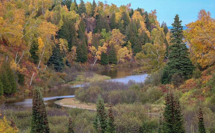 Gooseberry River in Autumn by Susan Rydberg
