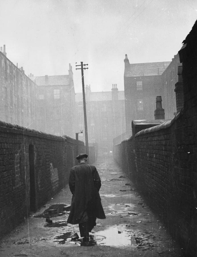 Gorbals Backstreet Photograph by Bert Hardy