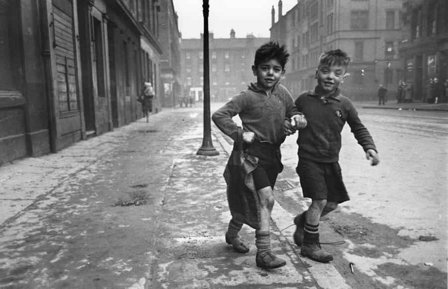 Gorbals Boys Photograph by Bert Hardy