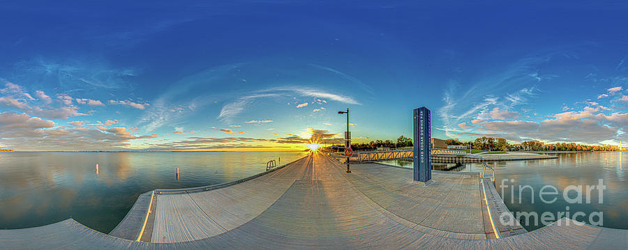 Gord Edgar Downie  Memorial Pier 1 by Roger Monahan