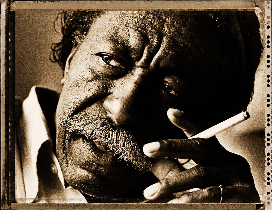 Gordon Parks Photograph by George Rose