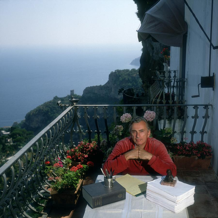 Gore Vidal Photograph by Slim Aarons
