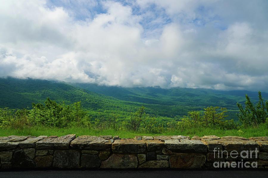 Gorgeous Blue Ridge Overlook by Rachel Cohen