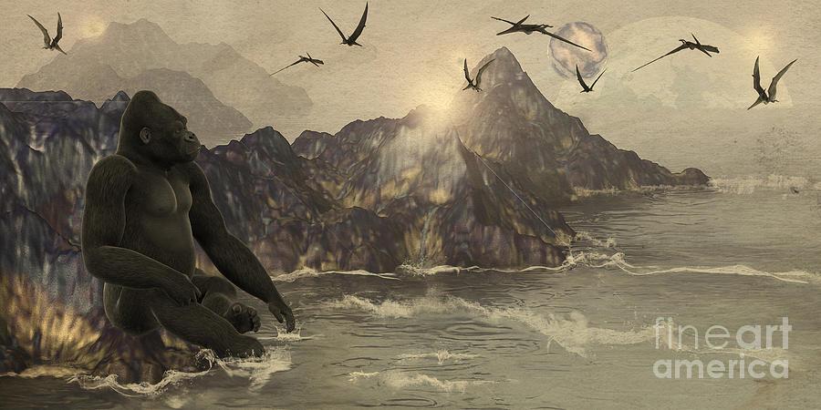 Gorilla Fantasy by Methune Hively