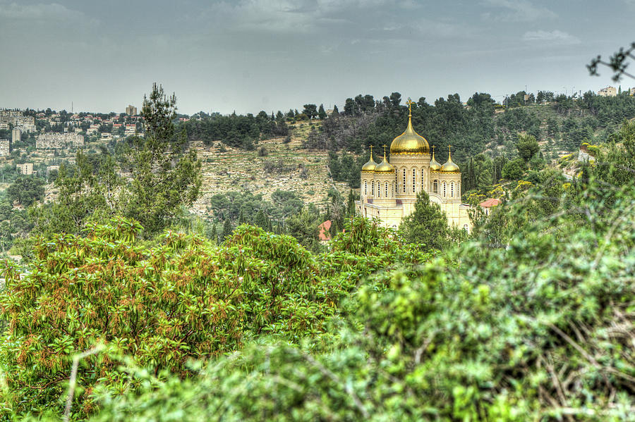 Gorny Monastery, Ein-karem Photograph by Photo By Ami Faran