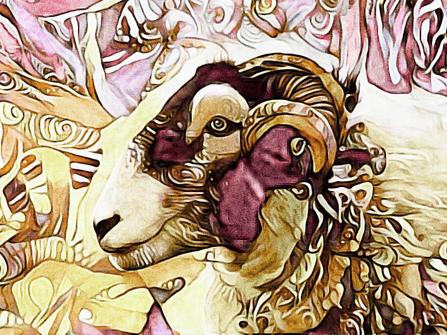 Got His Eye on Ewe by Susan Maxwell Schmidt