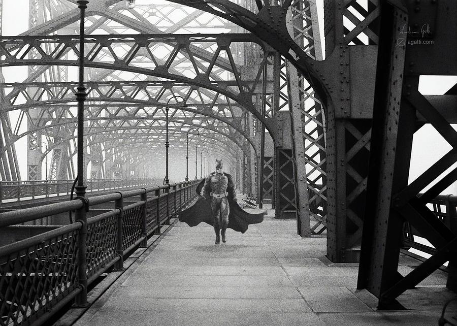 Gotham City Bridge Digital Art