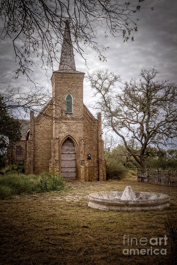 Gothic Photograph - Gothic Revival Church  by Imagery by Charly