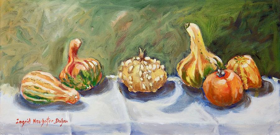 Gourds II by Ingrid Dohm