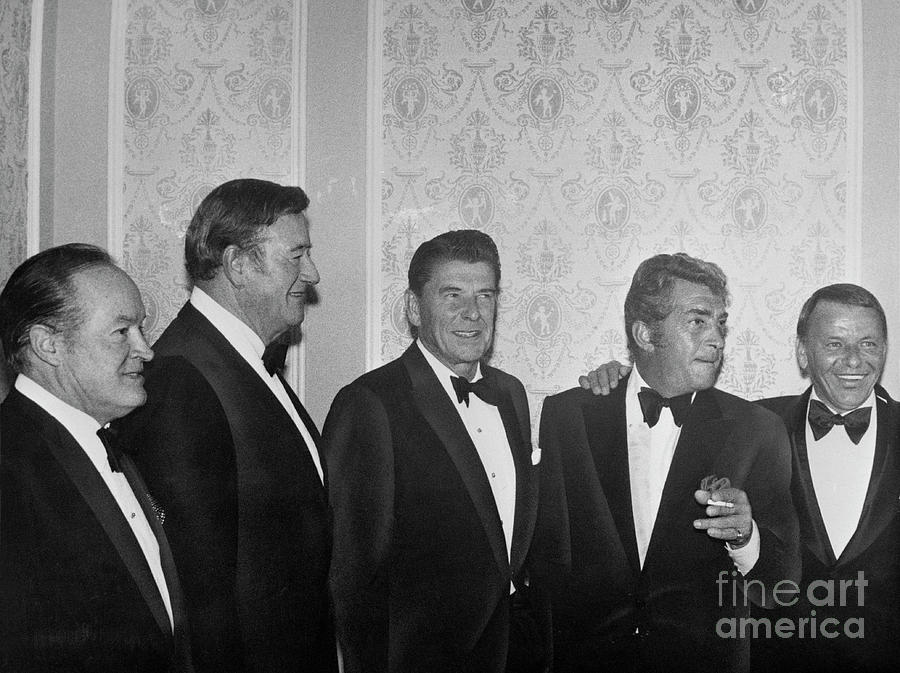 Governor Reagan And Celebrities Photograph by Bettmann