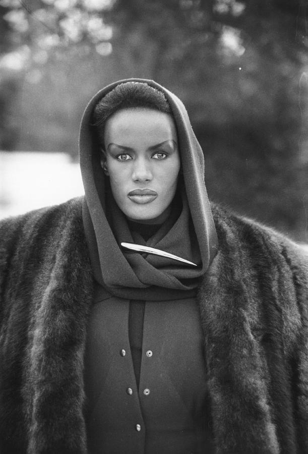 Grace Jones Photograph by Larry Ellis