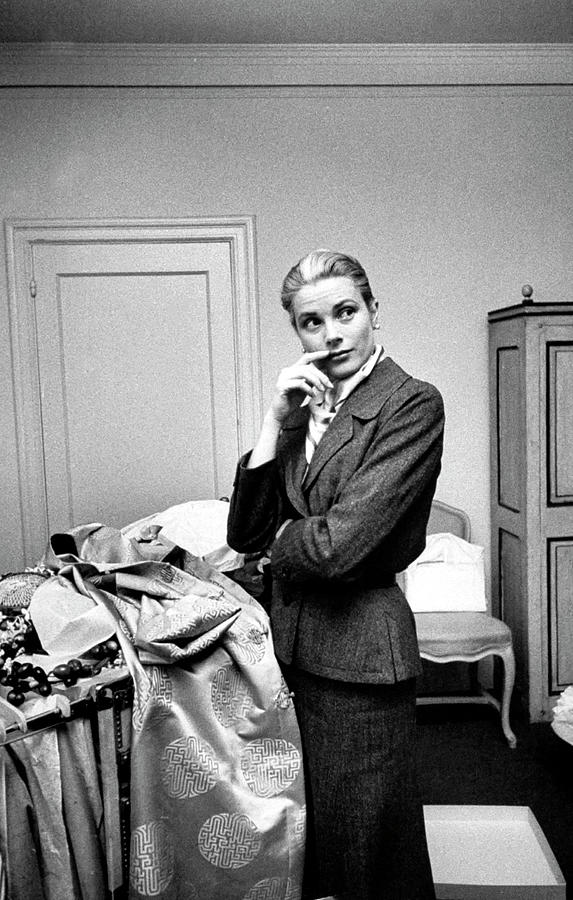 Grace Kelly Photograph by Lisa Larsen