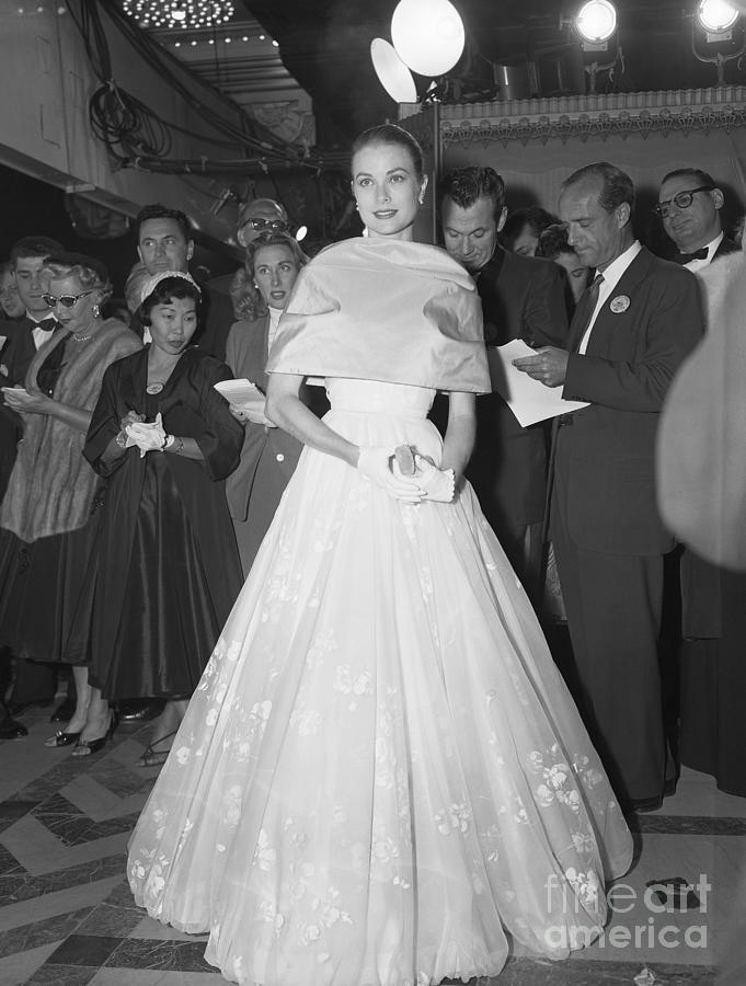 Grace Kelly Makes Last Public Appearance Photograph by Bettmann
