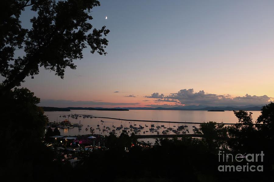 Grace Potter Crescent Moon Waterfront Concert Vermont Photograph