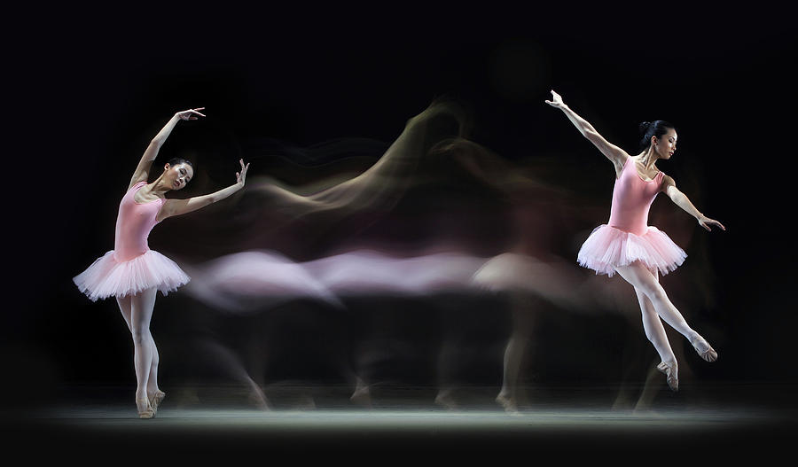 Ballet Photograph - Graceful Balerina by Antonyus Bunjamin (abe)