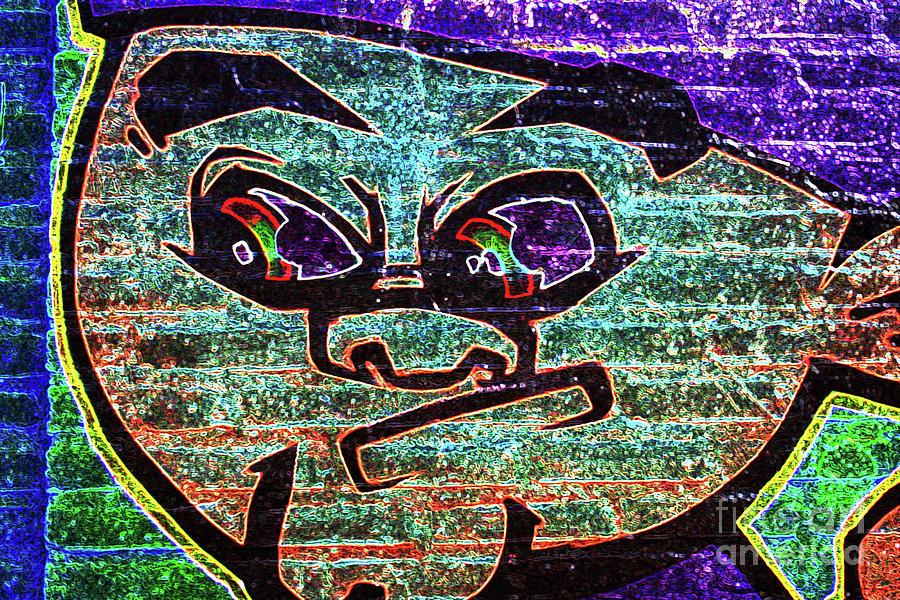 Graffiti Photograph - Graffiti 7 by Alan Harman